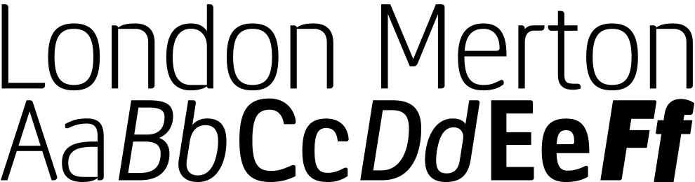 Coming Soon: LDN Merton Sans