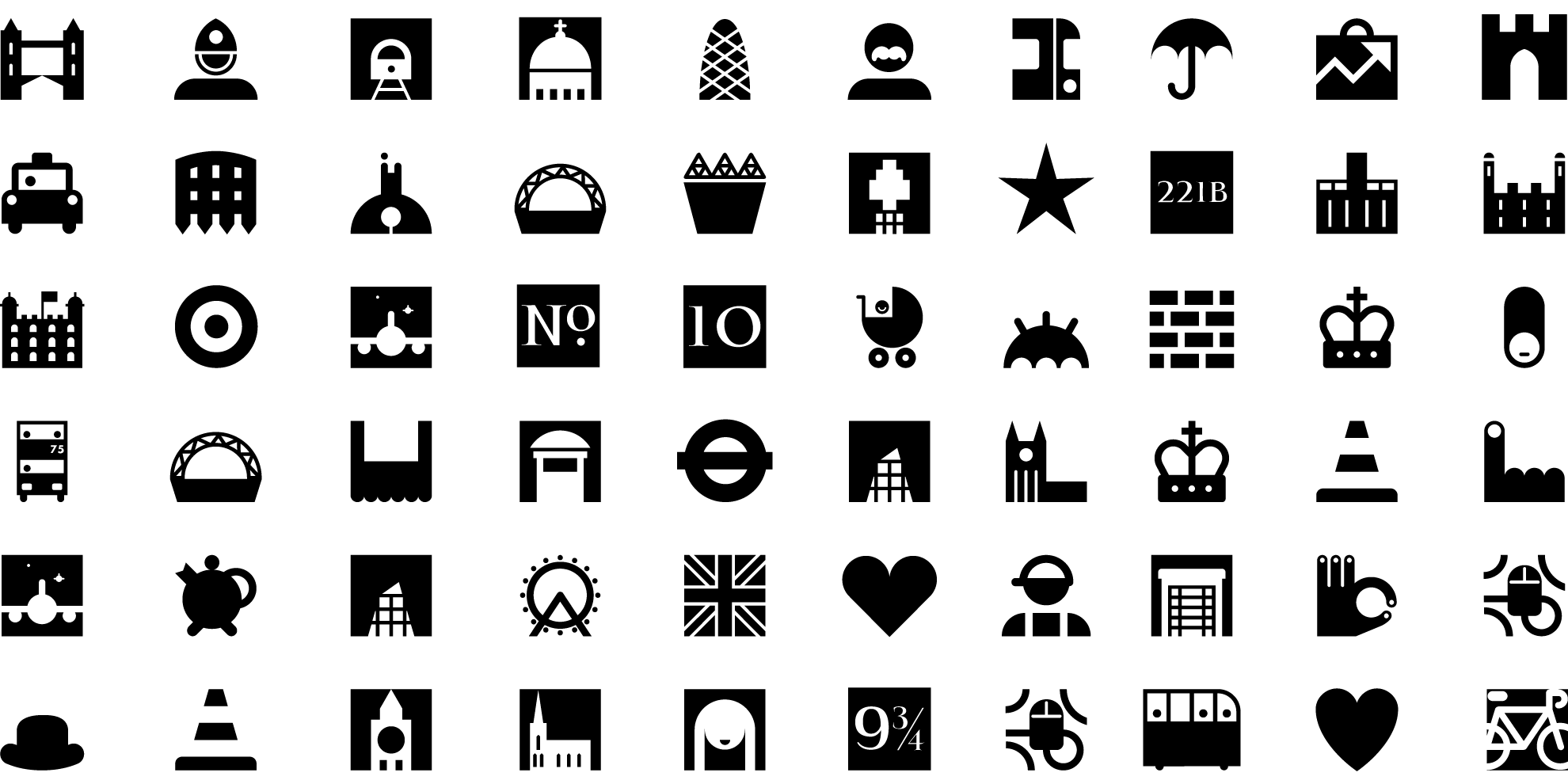 London Dingbats